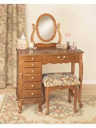 Antique Bedroom Vanity Bedroom Vintage Home Furniture Design With Brown Oak Wooden Vanity