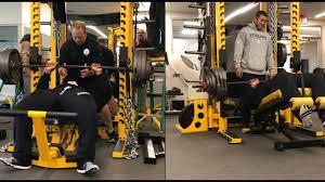Decline Vs Flat Bench James Harrison Of Pittsburgh Steelers Decline U0026 Flat Bench Presses