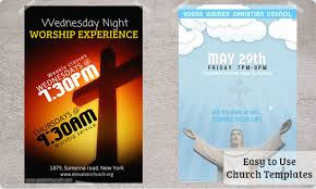 10 best images of religious flyers templates christian church