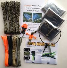 survival paracord bracelet kit images X cords woodland camo paracord survival kit set jpg
