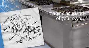 commercial kitchen islands commercial kitchen island suite hungrylikekevin com