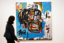 a basquiat sells for mind blowing 110 5 million at auction