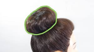 sock hair bun how to do a sock bun 7 steps with pictures wikihow