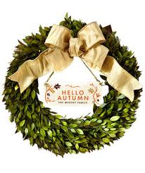 6 fall wreaths to welcome the new season real simple