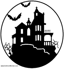 printable spooky house haunted house stencil free halloween printables popsugar smart