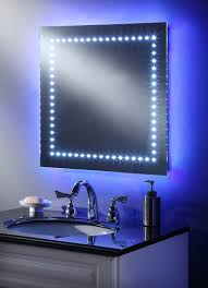 bathroom led lighting ideas bathroom mirrors blue led lights bathroom mirrors