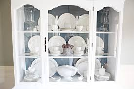 how to arrange dishes in china cabinet styling a dining room hutch bower power