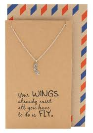 gifts for graduates adannaya graduation gifts for wing necklace graduation