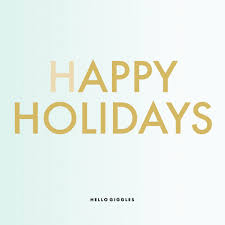 merry happy holidays gif by hellogiggles find on