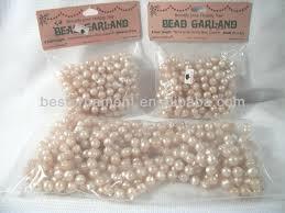 vintage tree bead garland 32ft buy pearl
