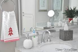 target holiday accessories in the bathroom honey we u0027re home