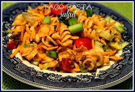 sweet tea and cornbread taco pasta salad