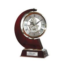 anniversary clocks engraved engraved personalized clock large gear da vinci which rotates 360 degr