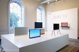 Samsung Desk Samsung Serif Tv Redefines Tv Design Thanks To Collaboration With