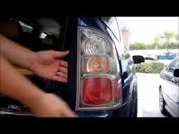 9 light door window replacement saab 9 7x brake light bulb replacement youtube