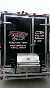 tailgate bathroom atlanta tailgate party idea tailgating trailer georgia