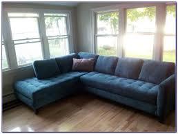 navy blue velvet sectional sofa sofas home decorating ideas