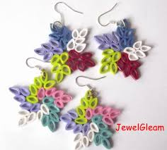 quilling earrings tutorial pdf free download 60 new simple quilling earrings designs wedding idea