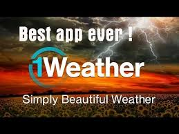 the best weather app for android cool and best weather app android 1weather app