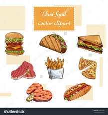 delicious fast food design vector illustration eps10 graphic