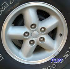 1997 jeep wrangler wheels 1997 jeep wrangler oem factory wheels and rims