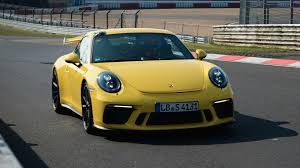 new porsche 911 gt3 porsche 911 gt3 bests its own nurburgring lap time update