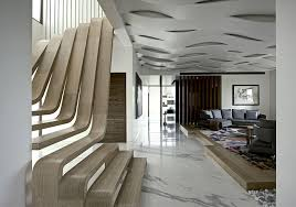 Apartment Stairs Design Sophisticated Indian Apartment With Woven Staircase Interiorzine