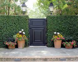 gate landscaping curb appeal pinterest gate landscaping and