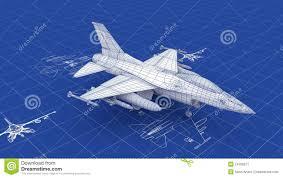 jet fighter aircraft blueprint stock image image 24706271
