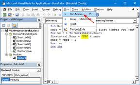 4 options to rename one or multiple worksheet tabs in excel