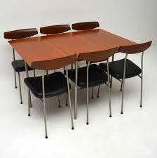 retro teak stag s range dining table u0026 chairs john u0026 sylvia reid