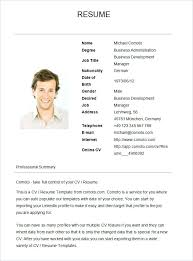 sample resume for business development examples of good sample resumes basic resume template free samples