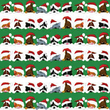 cat christmas wrapping paper caspari 9599rc caspari continuous roll of gift