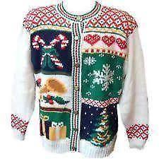 mens ugly christmas sweater ebay