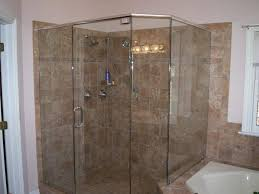 Small Shower Stall by Interior Corner Shower Stalls For Small Bathrooms Country