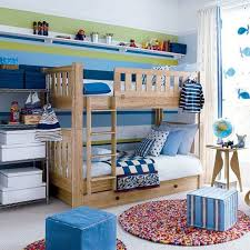 Blue And Red Boys Bedroom Boys Bedroom Paint Ideas Red White Stripped Pattern Roll Up