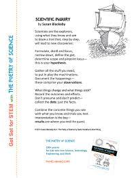 The Scientific Method Worksheet Need To Memorize Some Science Vocab Try Poetry