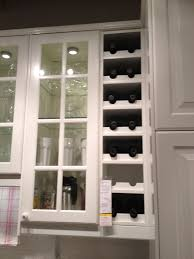 ikea kitchen cabinets glass pin by chang on for the home kitchen wine rack