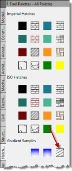 hatch pattern definition use tool palettes to save and place user defined hatch patterns