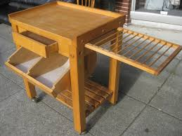 Folding Kitchen Island Work Table Butcher Block Dining Table For Sale Home And House Photo Awesome