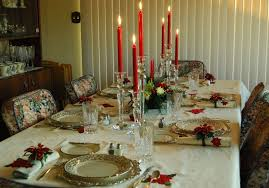 christmas dining table decorations table setting centerpiece ideas for christmas dinner