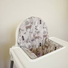 Ikea Baby Chair Cushion Preorder Rose Floral Ikea Antilop Highchair By Yeahbabygoods