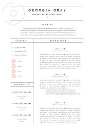 Best Internship Resumes by Resume Layouts Resume Template 3 Page Cv Template Best 25