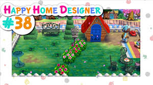 animal crossing happy home designer 38 a cultivated garden