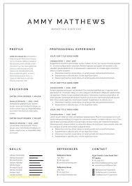 illustrator resume templates fresh adobe illustrator cv template free template 2018free