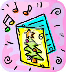 art image a musical christmas card