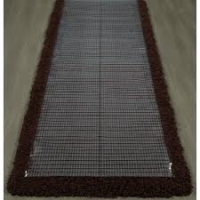 Plastic Runner Rug Sweet Home Stores Clear Plastic Runner Rug Protector Ribbed Multi