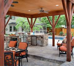 covered patio designs patio traditional with orange outdoor