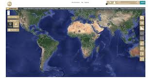 World Map App by Global Risk Portal Desktop App Fresh01