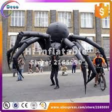 aliexpress com buy 6m wide giant halloween inflatable spider